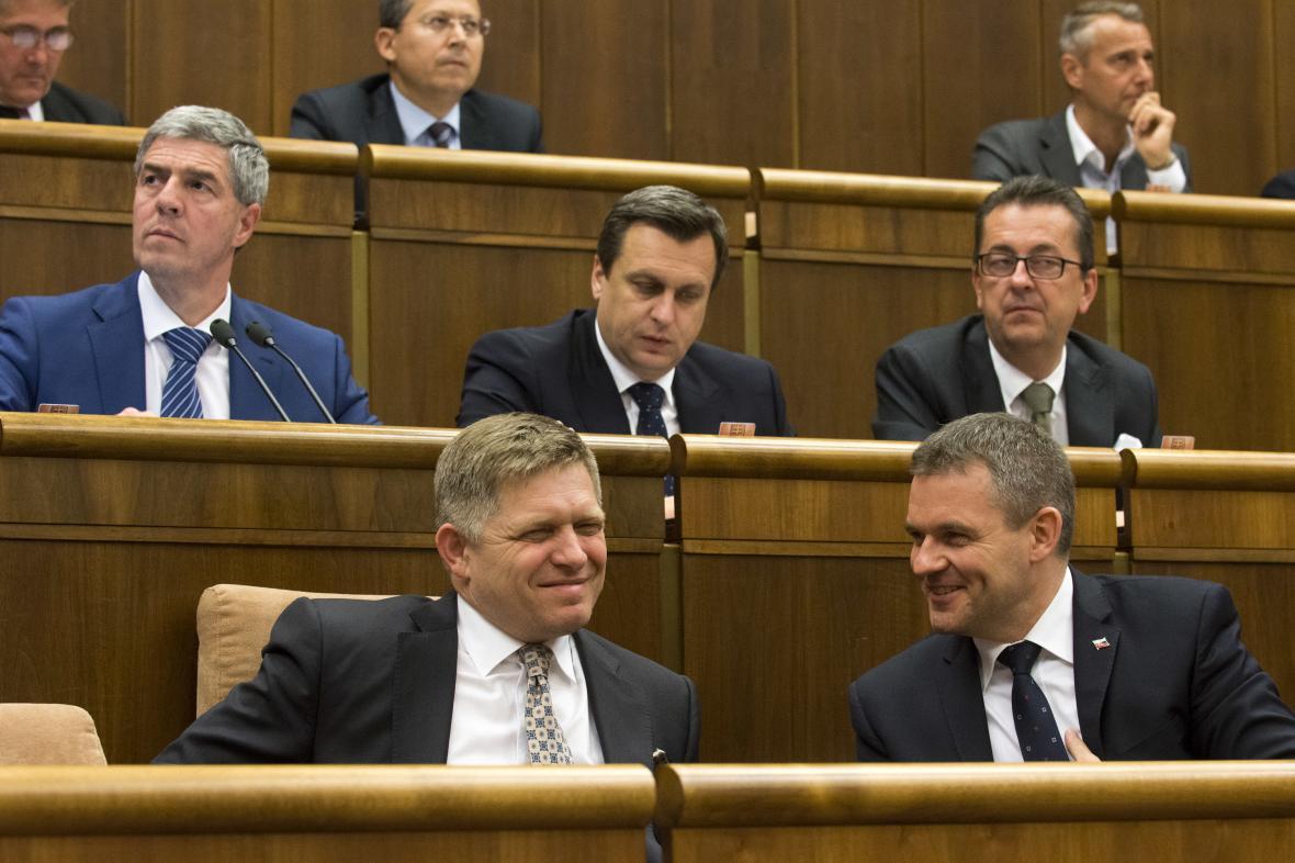 Martin Glváč v prostřední řadě zcela vpravo