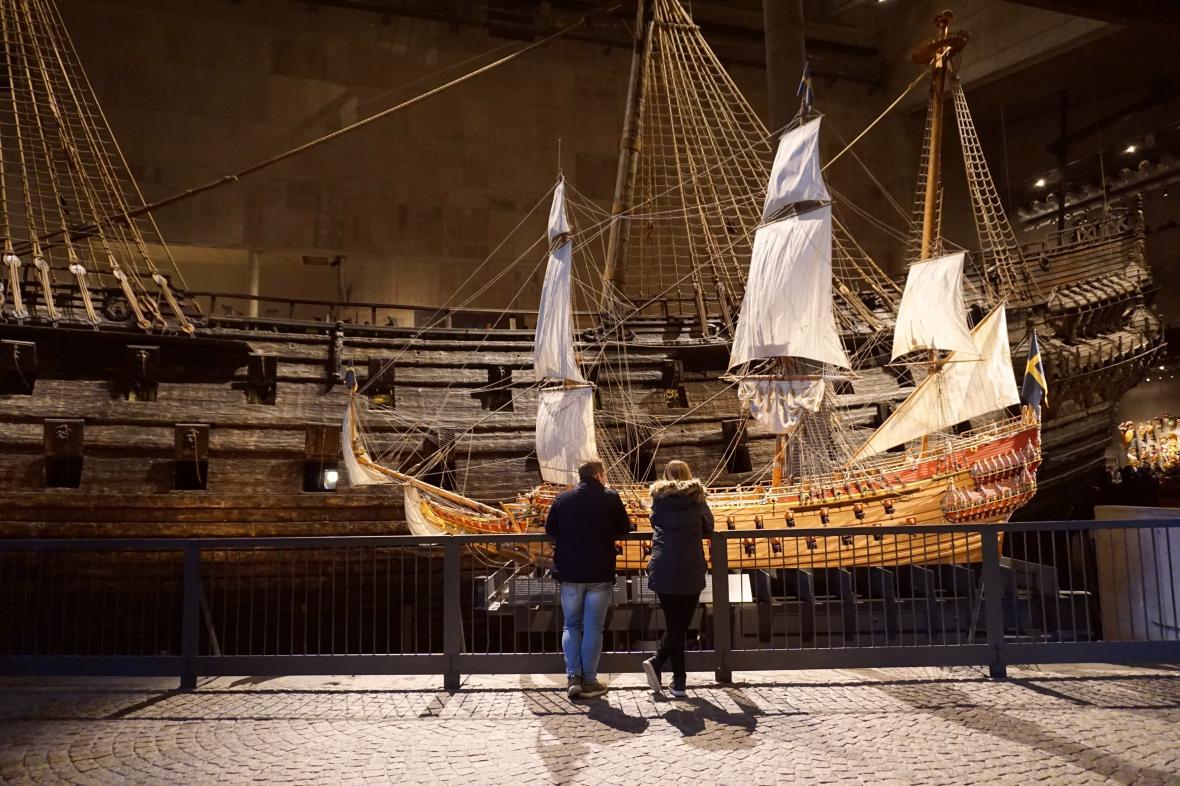 Švédská válečná loď Vasa