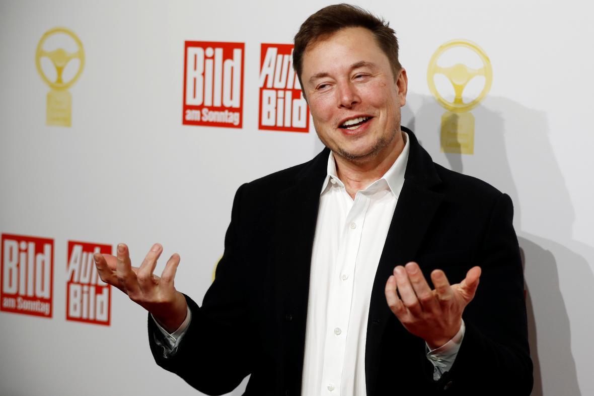 Zakladatel a šéf Tesly Elon Musk