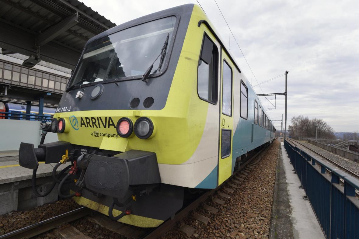 Vlak společnosti Arriva