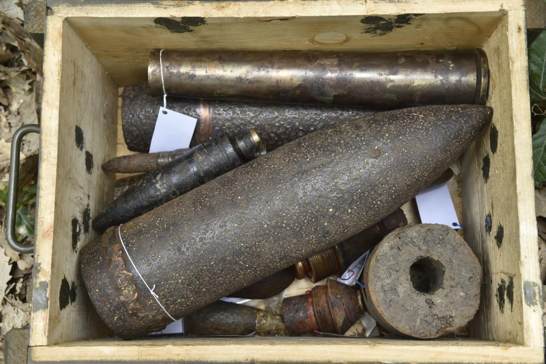 Munice nalezená v minulosti v Bořím lese
