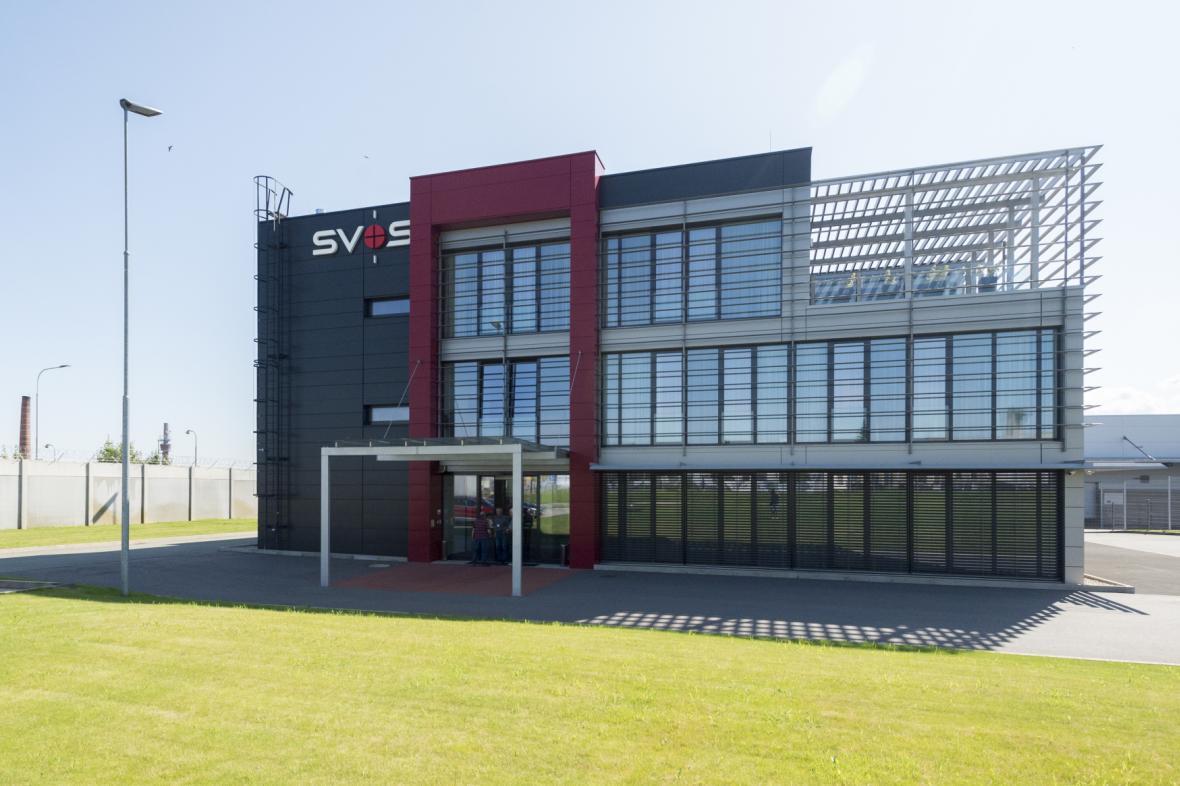 Areál společnosti SVOS Přelouč