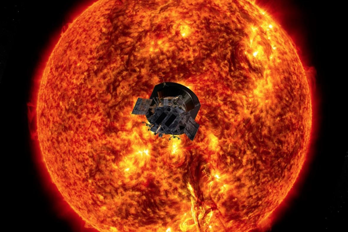 Parker Solar Probe u Slunce