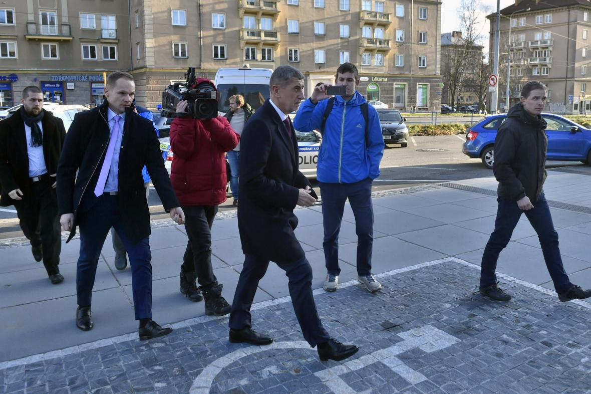 Do Ostravy po střelbě dorazil premiér Andrej Babiš (ANO)