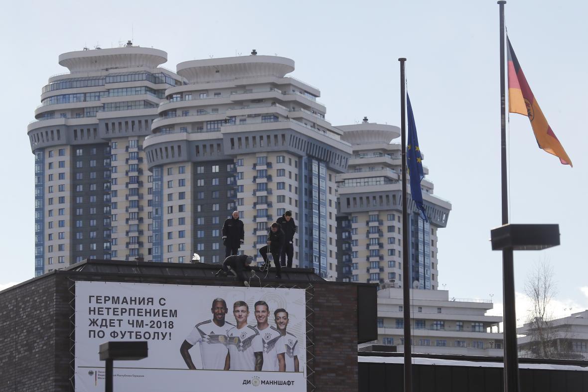 Budova německé ambasády v Moskvě