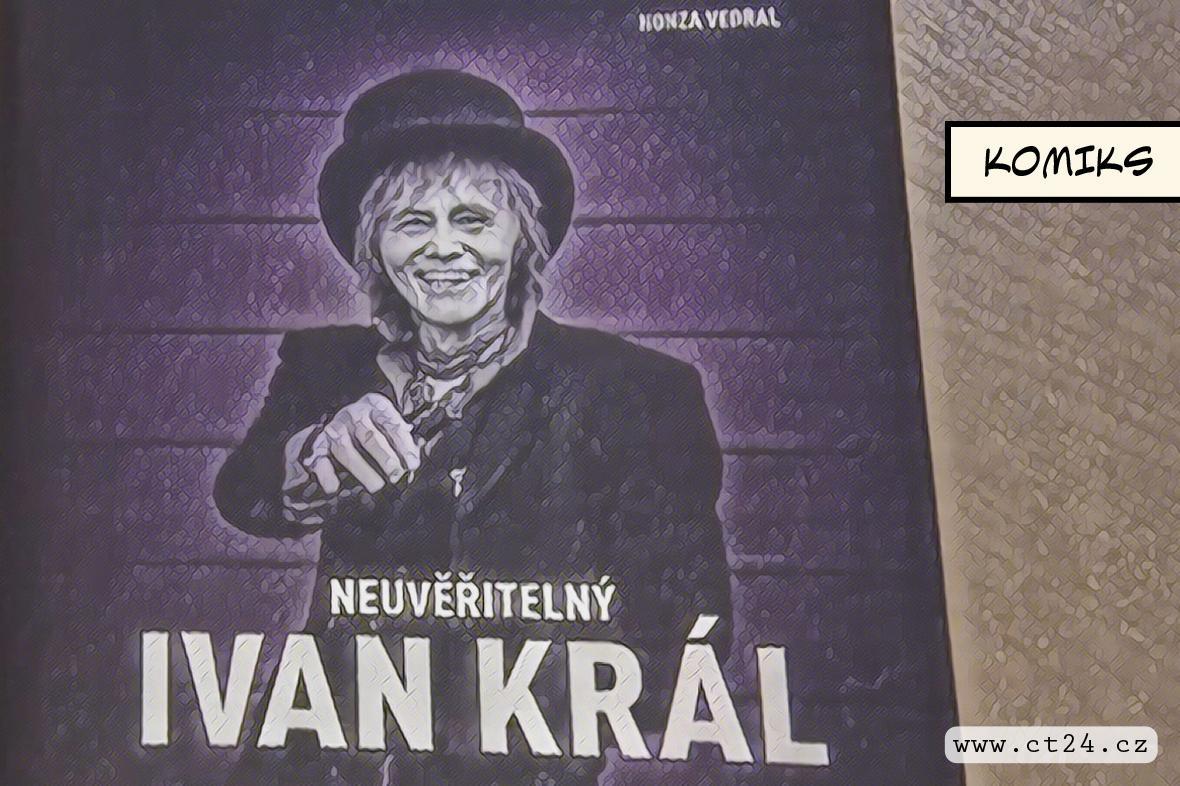 Ivan Král jako legenda rocku. Slavný hudebník vypráví svůj příběh v nové knize