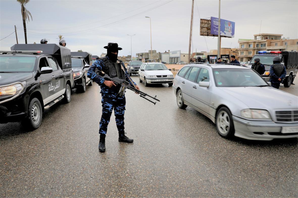 Voják v Tripolisu