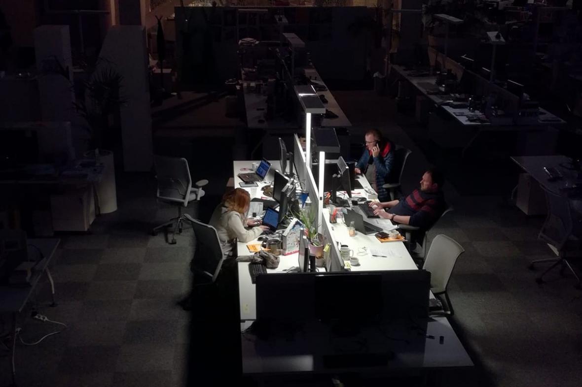 Novináři v Economii pracují v provizorních podmínkách