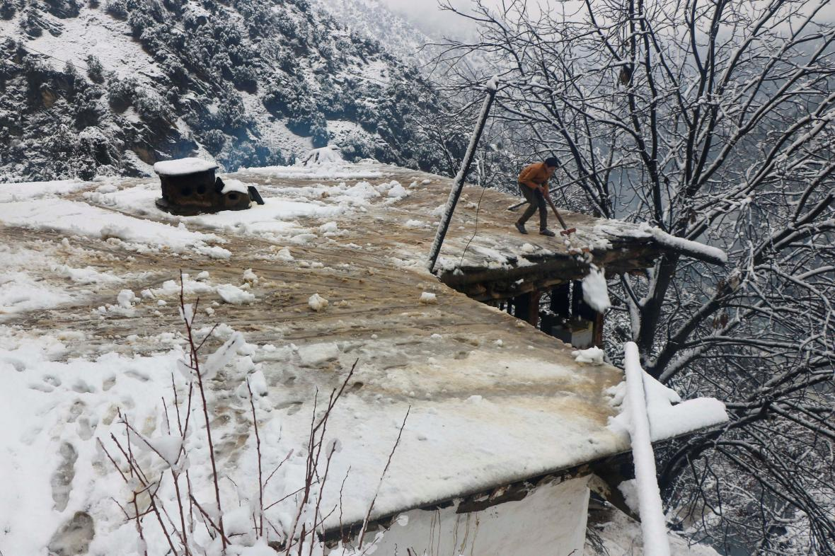 Sněhová kalamita v Pákistánu