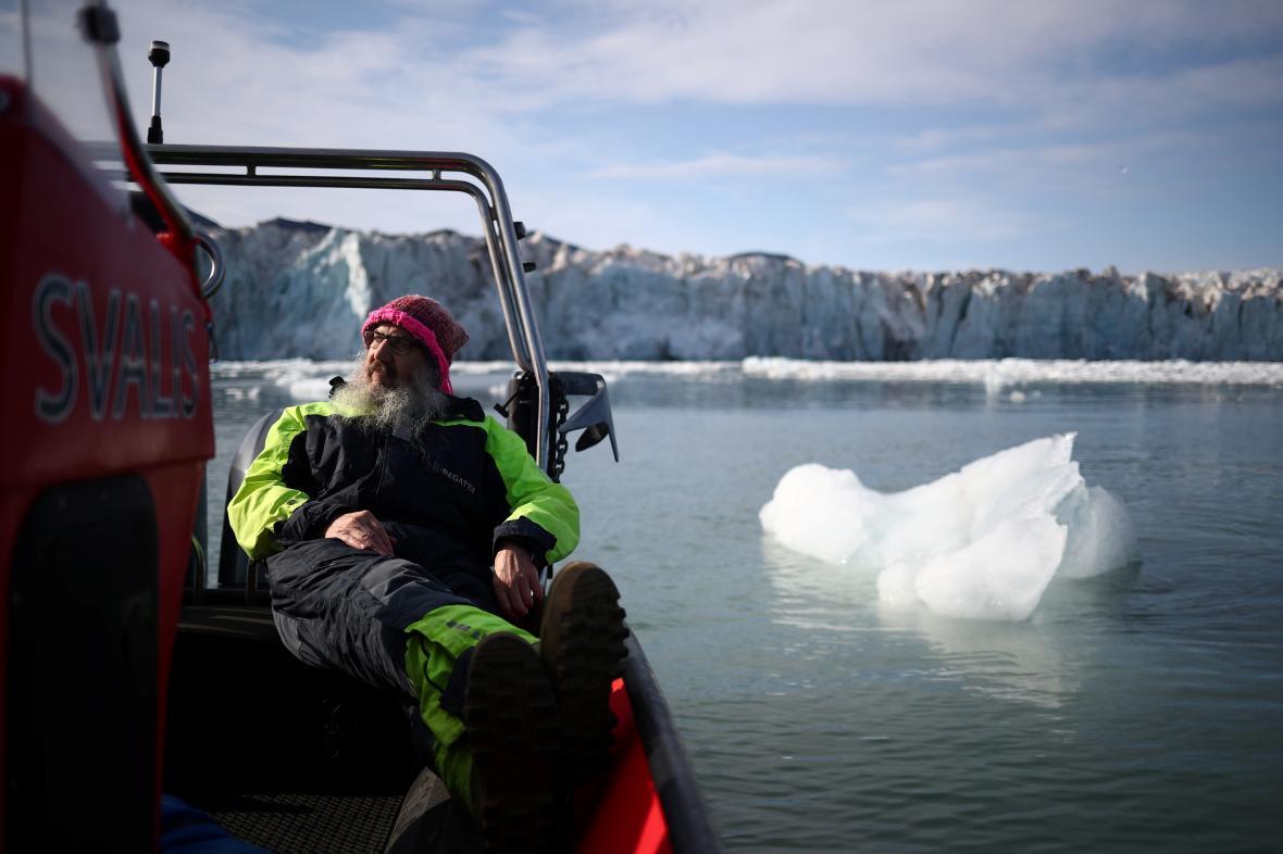 Ředitel Norského polárního institutu Kim Holmen. Podle něj jsou změny v Arktidě rychlé a obrovské