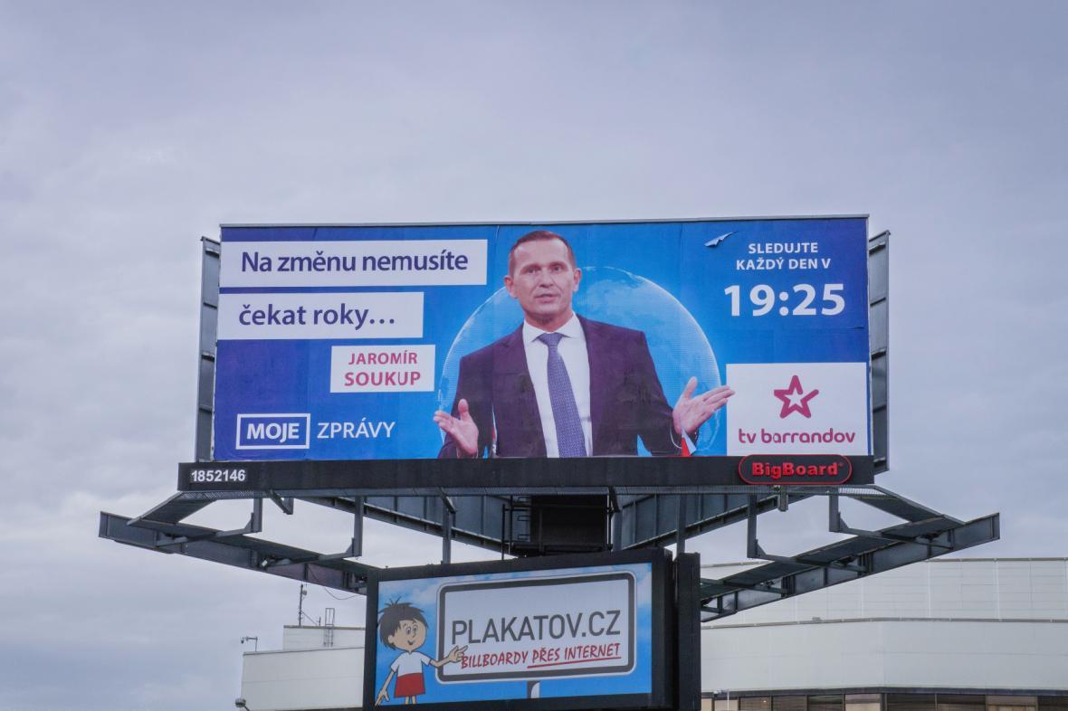Billboard televize Barrandov (květen 2019)