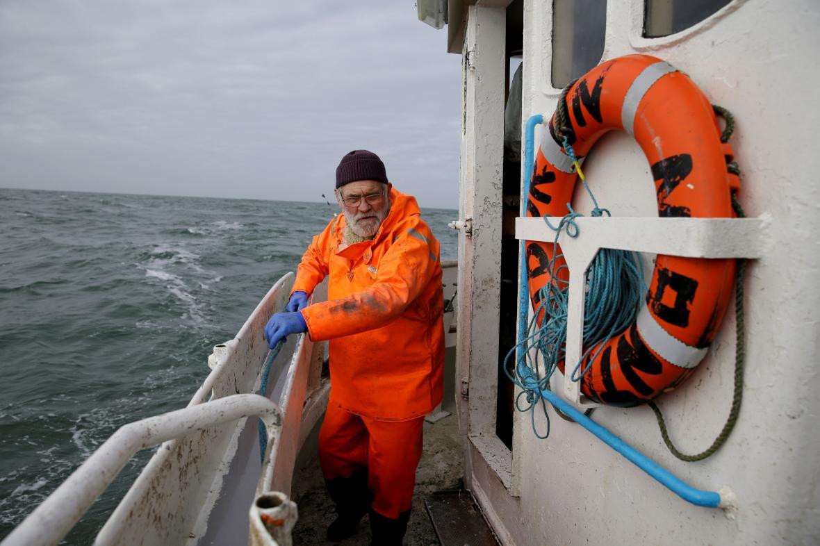 Britský rybář