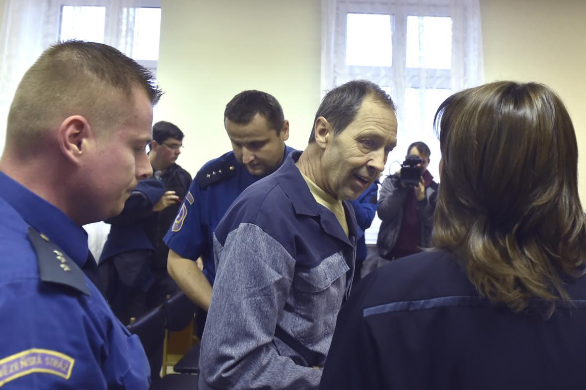 Rostislav Kotala u Krajského soudu v Ostravě v prosinci 2018