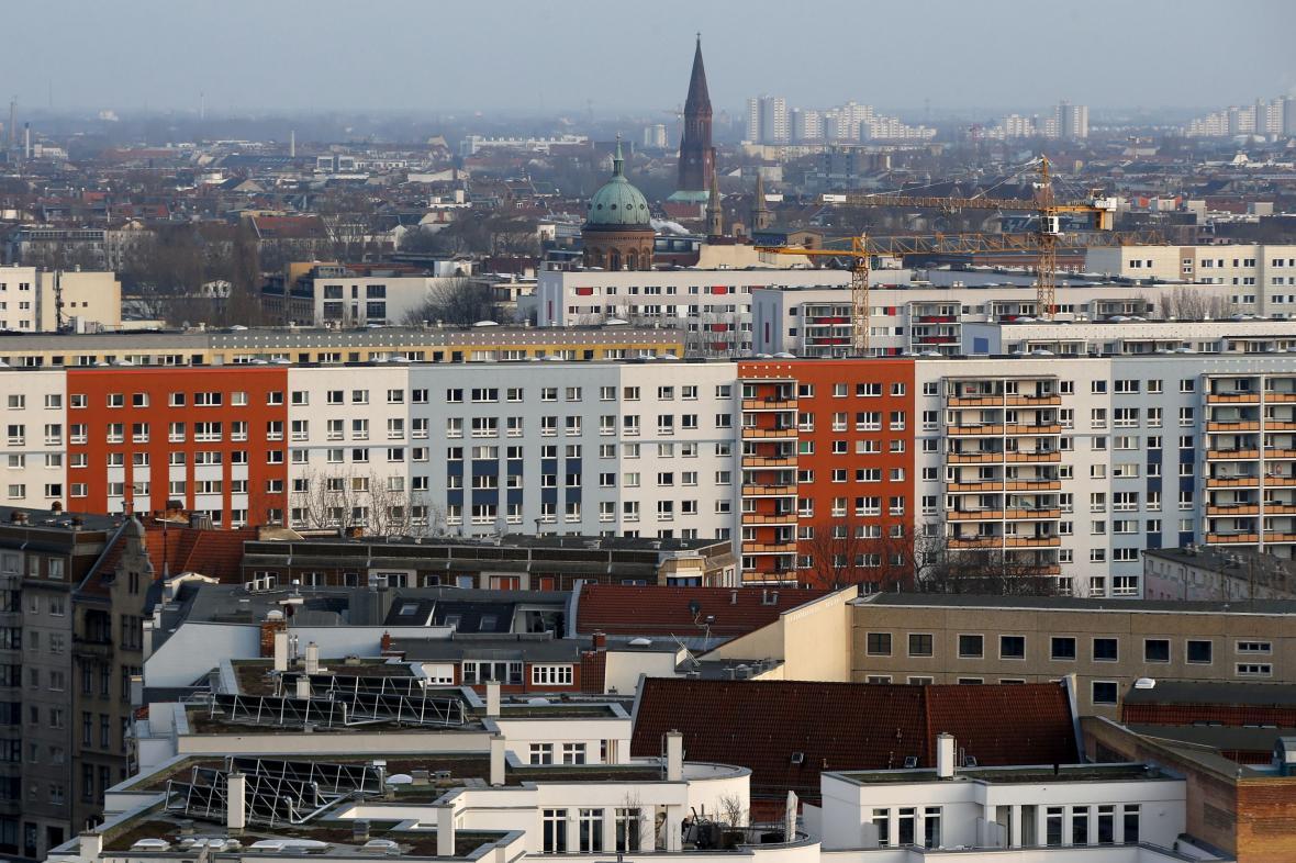 Bytové domy v berlínském Kreuzbergu