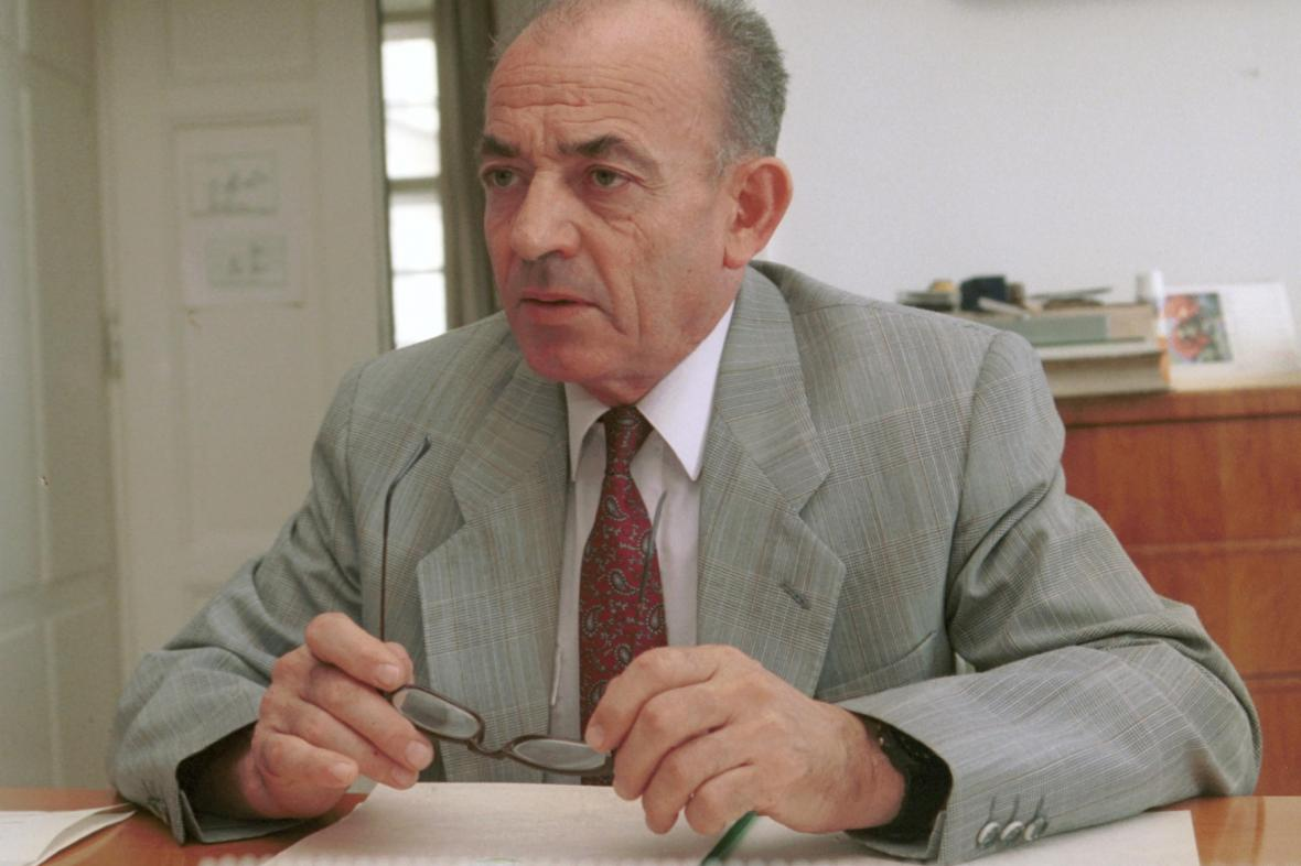 Luboš Dobrovský v roce 1992