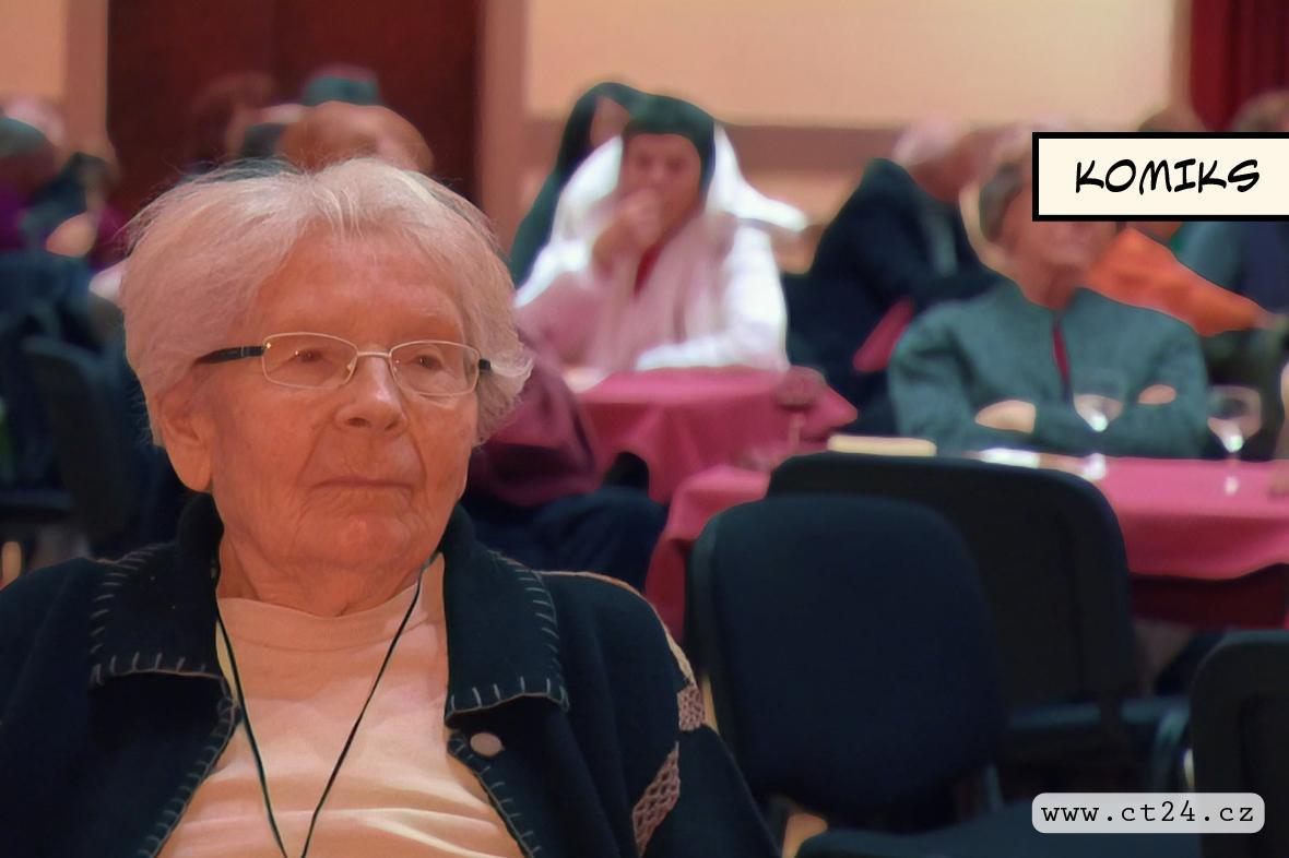 Důchodci se učí