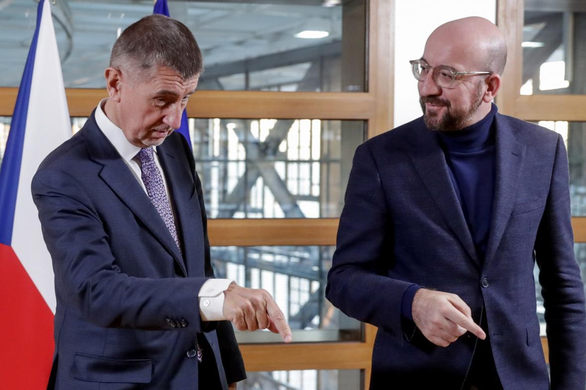 Andrej Babiš a Charles Michel