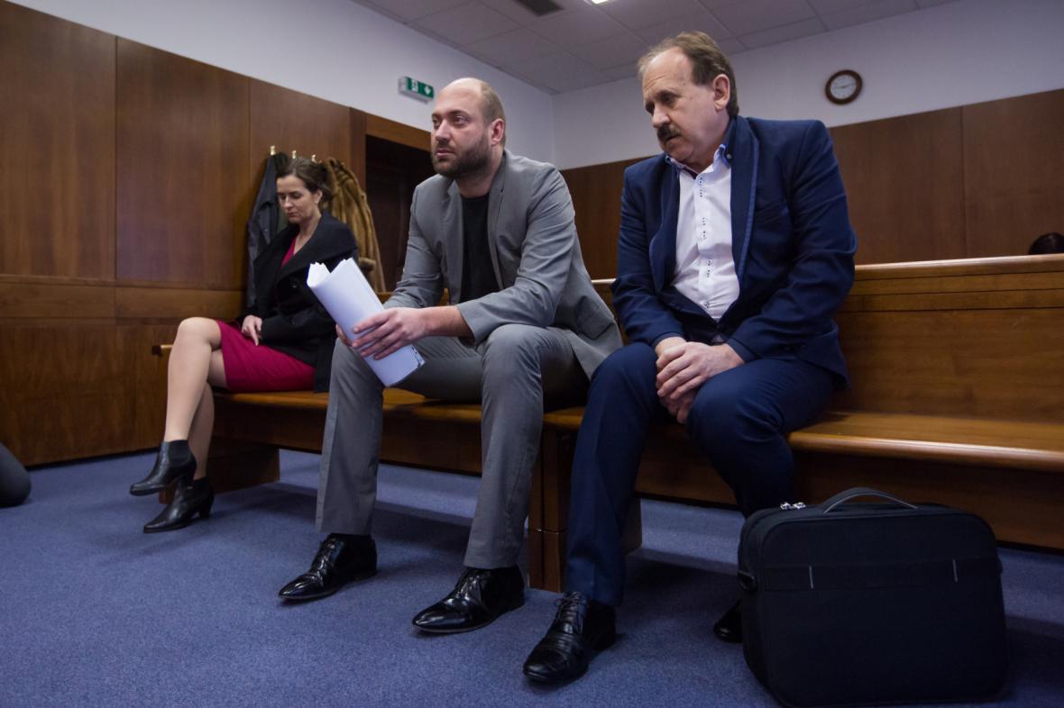 Lékárnice Silvie Karkošková a lékaři Tomáš Pastor a Zdeněk Pastor