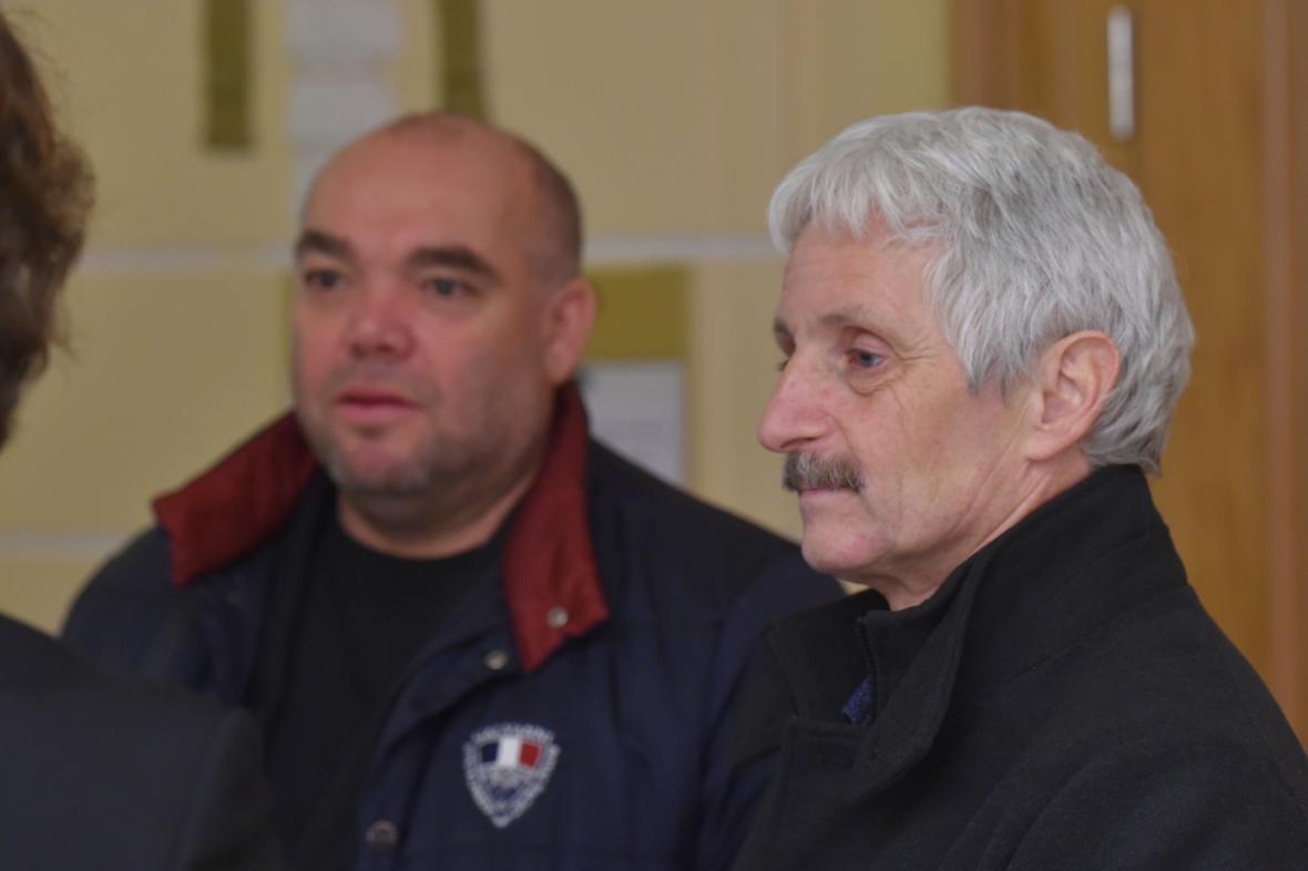 Jiří Červenka (vlevo) a Dalibor Blažek
