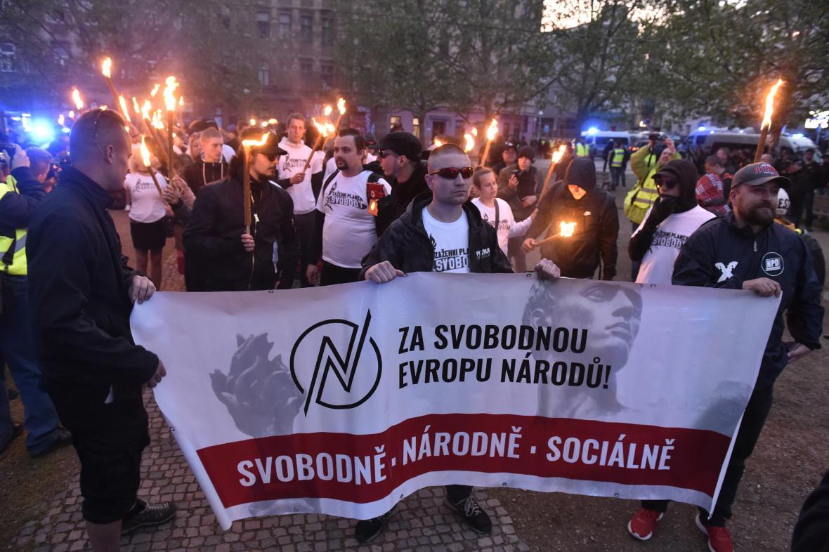 Pochod radikálů v Brně