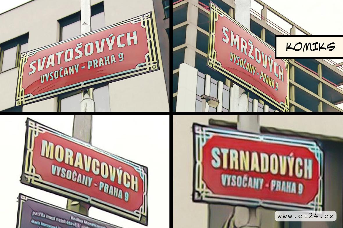 Ulice pojmenované po hrdinech odboje
