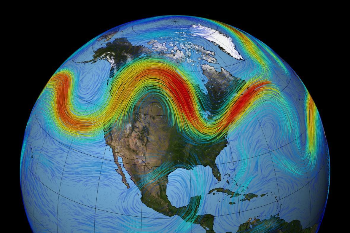 Polární tryskové proudění