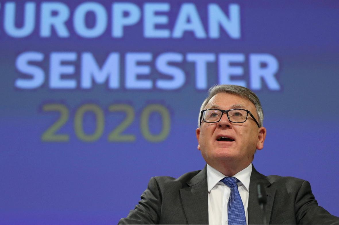 Evropský komisař pro pracovní místa Nicolas Schmit