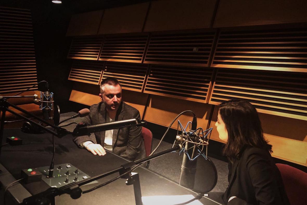 Ondřej Kundra v podcastu Newsroomu ČT24