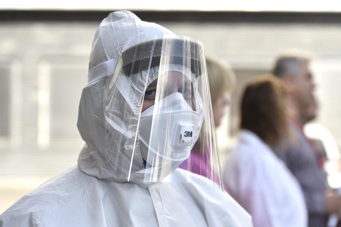 Ochranný oblek pro zdravotnický personál