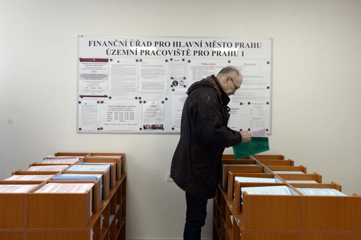Ilustrační fotografie: Finanční úřad