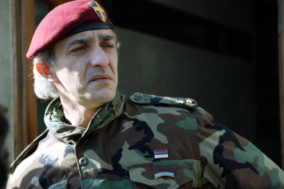 Dragan Vasiljkovič na snímku z roku 1993
