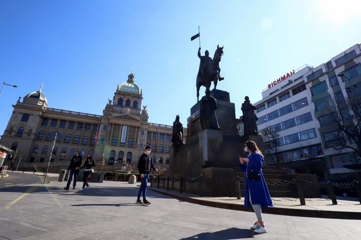 Praha během koronavirové karantény