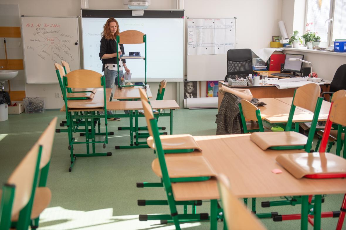 Škola v době koronaviru