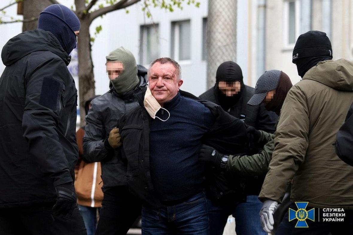 Zatčení ukrajinského generála Valerije Šajtanova