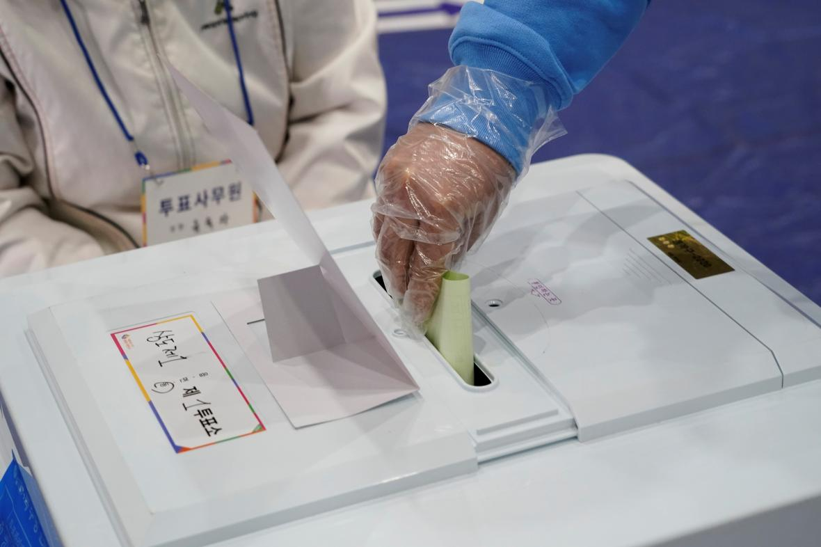 Parlamentní volby v Jižní Koreji