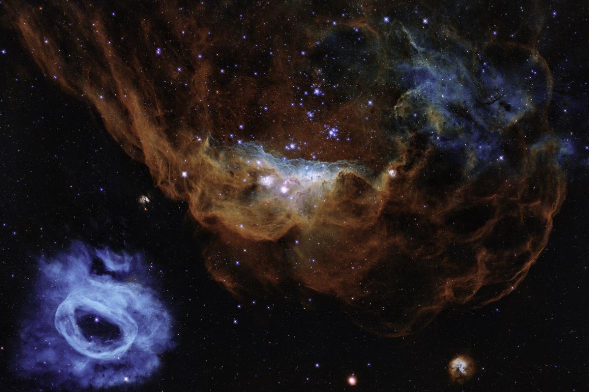 Výroční snímek Hubbleova kosmického dalekohledu 2020