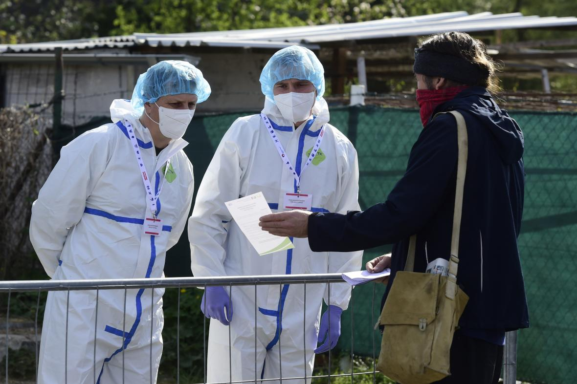 Testování kvůli studii kolektivní imunity v Česku
