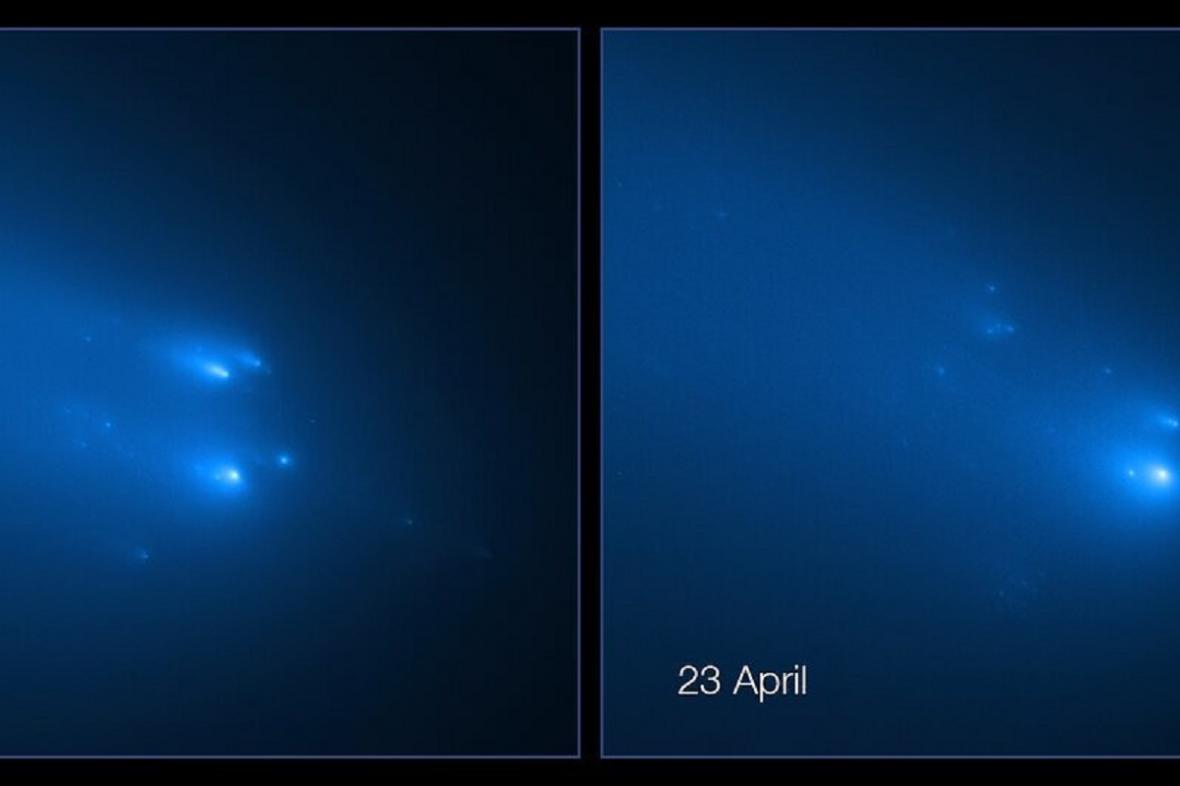 Rozpad komety Atlas