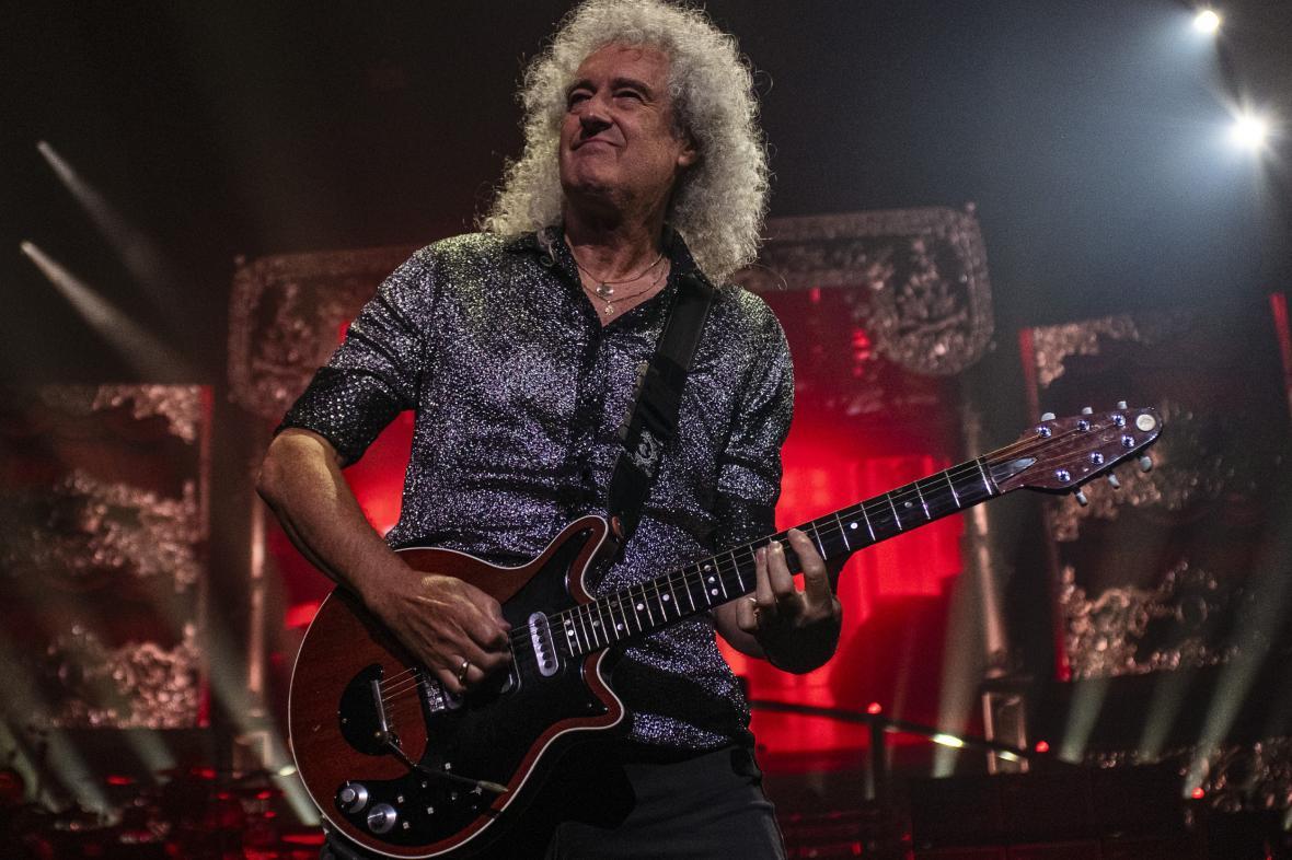 Kytarista kapely Queen Brian May