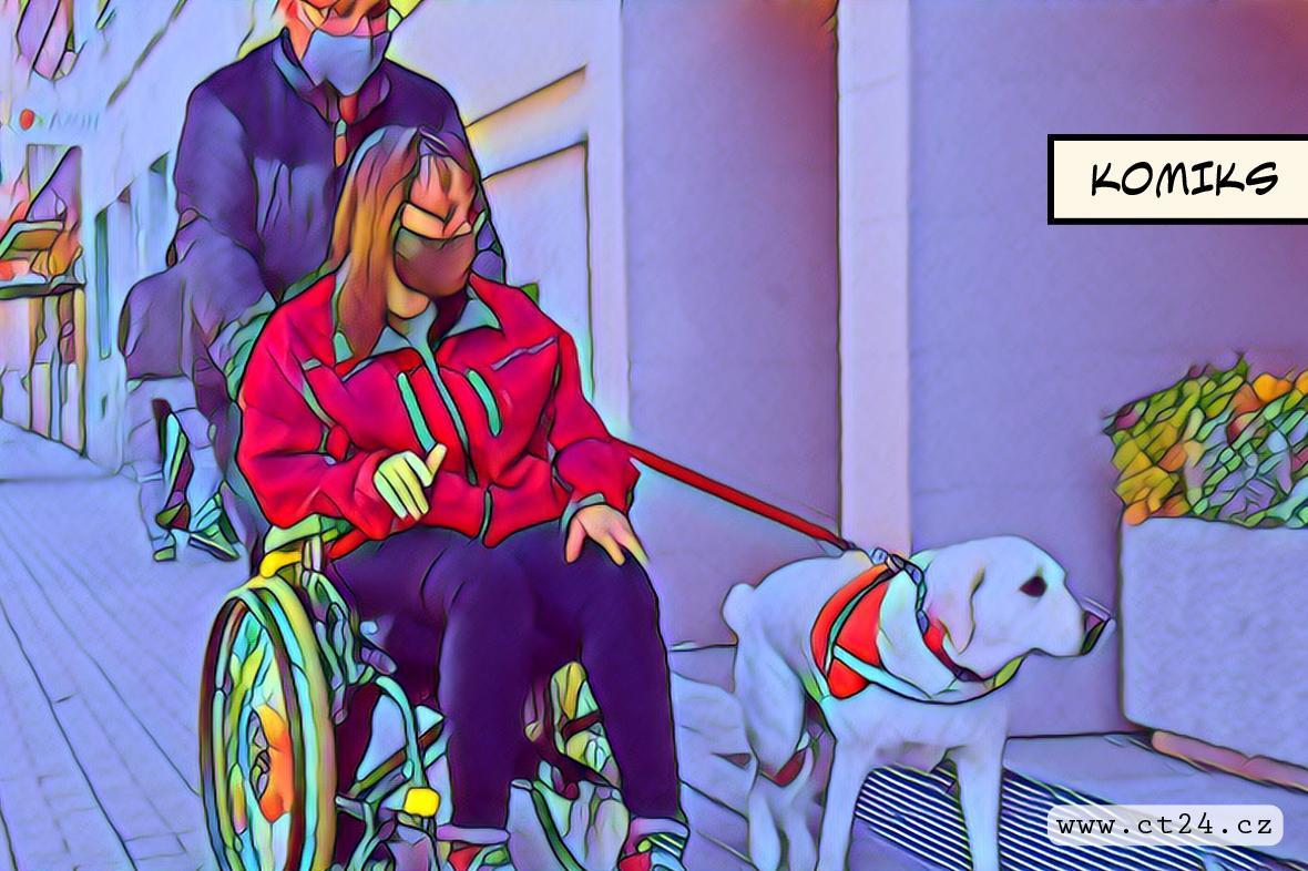 Od narození trpí vozíčkářka dětskou mozkovou obrnou. Teď chce dojít k oltáři po vlastních nohách