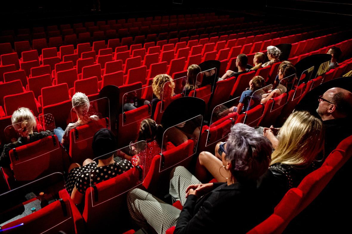 Kino přizpůsobené době koronaviru v Nizozemsku