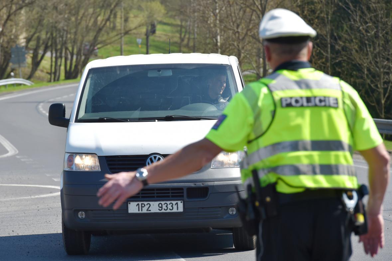Ilustrační fotografie: Policejní kontrola