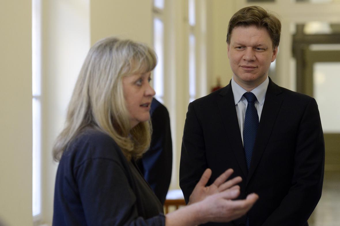Eva Vorlíčková a Tomáš Hudeček