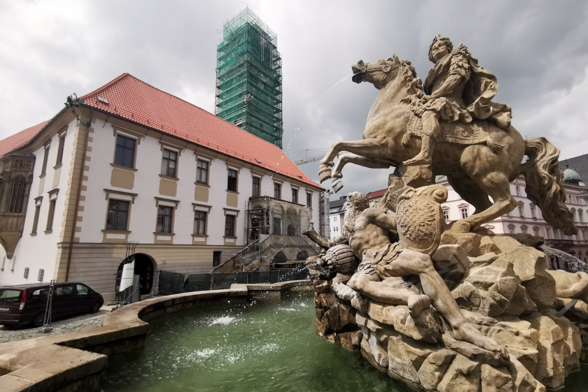 Rekonstrukce historické budovy radnice v Olomouci