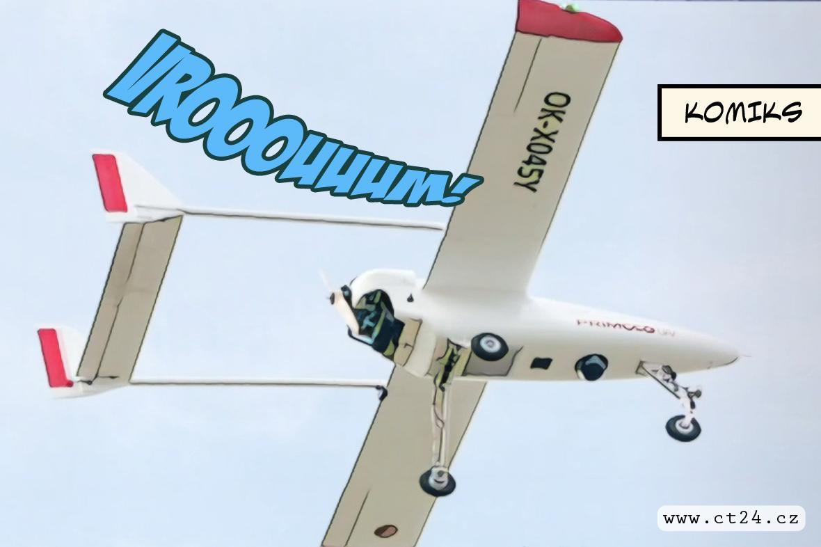 Drony hlídaly státní hranice