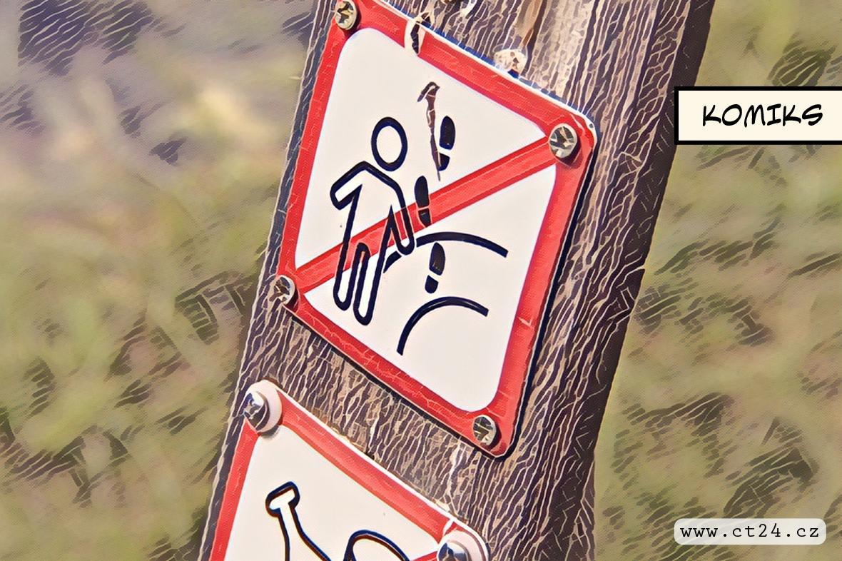 Neukáznění turisté porušují pravidla