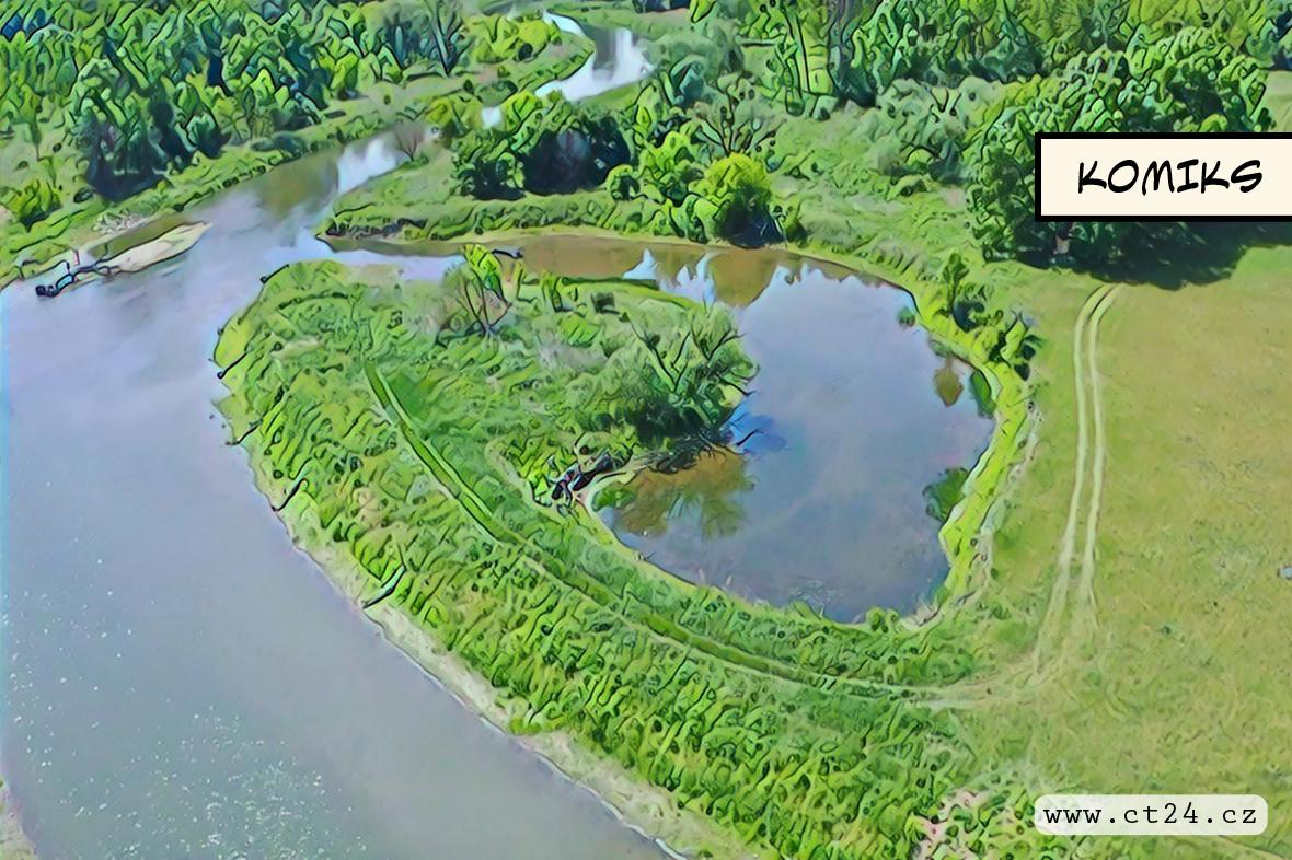 Řeka Dyje se vrací v čase