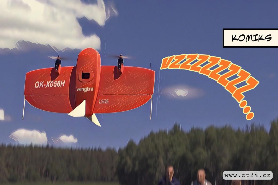 Nová metoda včasného odhalení kůrovce. Lesníkům mají pomoci drony