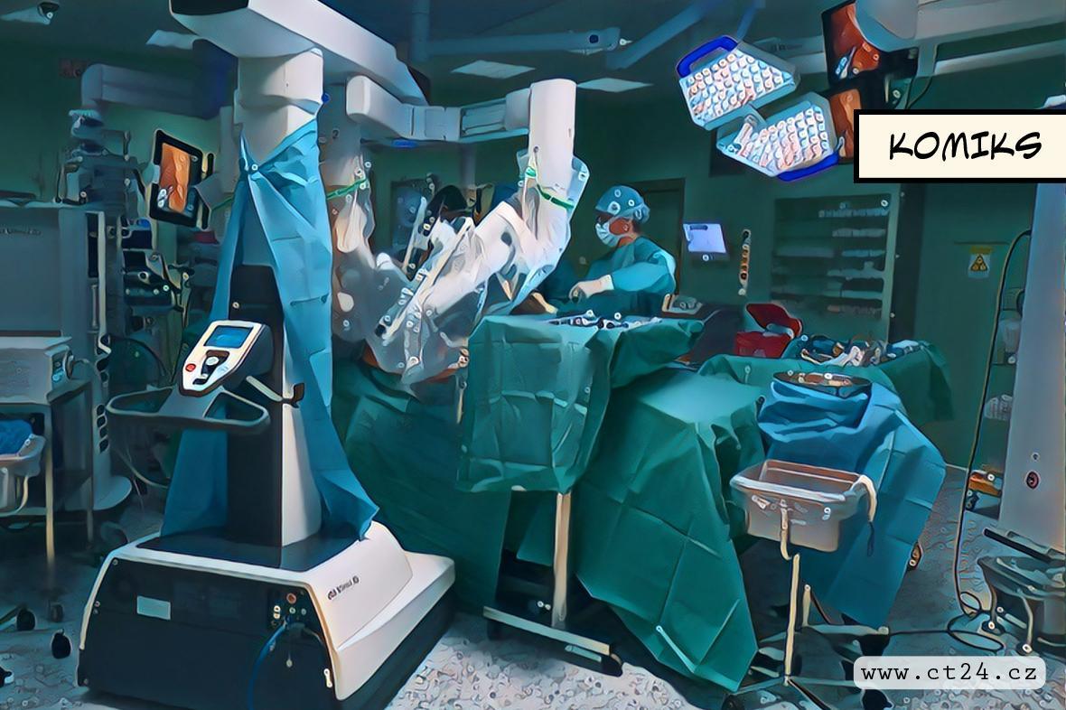 Medicína bez skalpelu. Na Homolce drží rekord v počtu robotických cévních operací