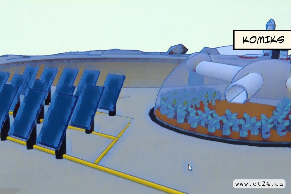 Třináctiletí chlapci navrhli základnu na Měsíci. Za odměnu si popovídali s astronauty